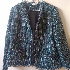 Tradition fringe tweed jacket